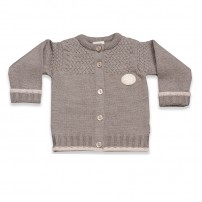 LilleLam Knitted jacket beige