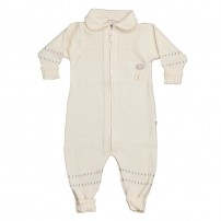 LilleLam Knitted jumpsuit offhwhite